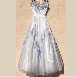 1970s Prom Dress